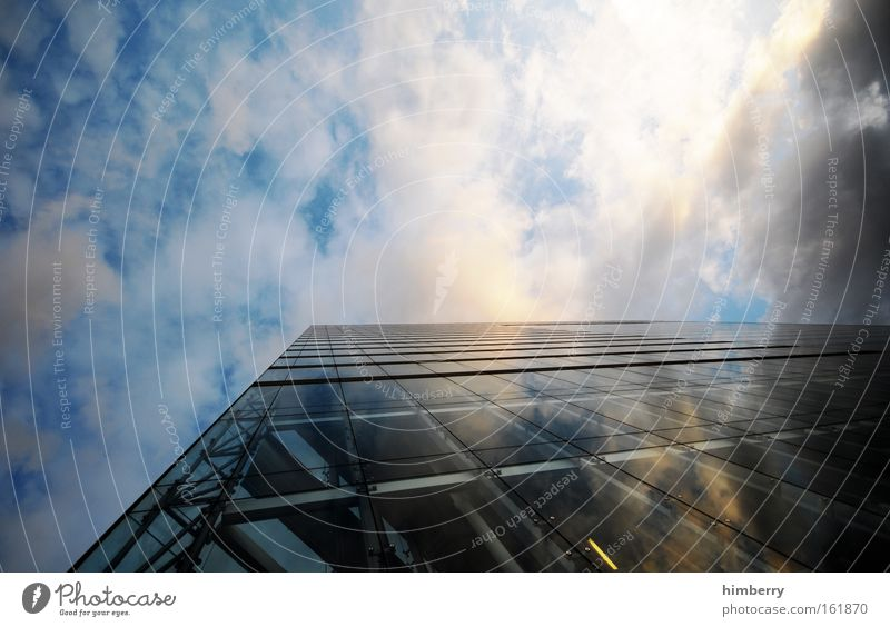 Sky City Window Architecture Building Germany Facade Energy industry Modern Glass High-rise Future Threat Might Science & Research Economy
