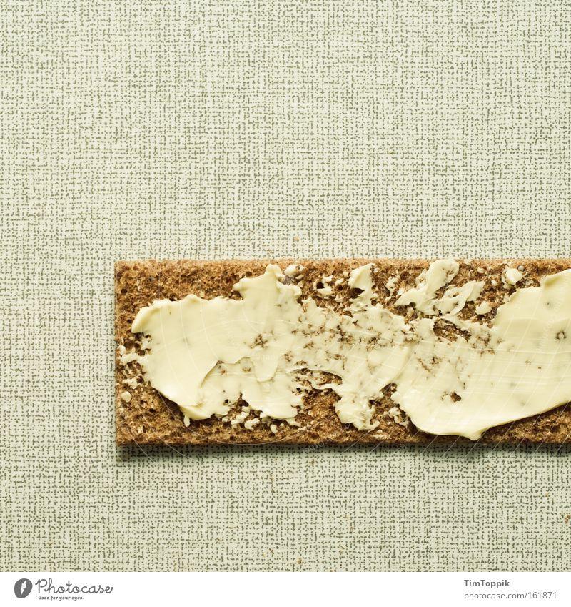 Crisis breakfast 2.0 Bread Crispbread Butter Chopping board Breakfast Save Appetite Nutrition Kitchen margarine light diet