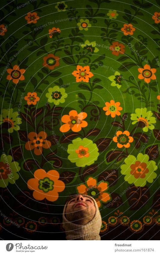 Man Beautiful Joy Flower Spring Funny Future Retro Cap Wallpaper Facial hair Grinning Humor Hippie