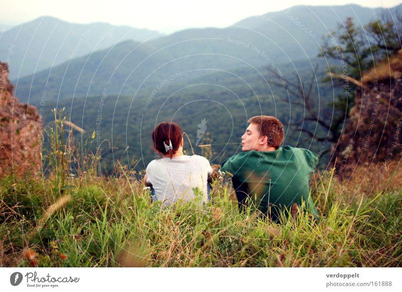 0_3 Love Flirt Nature Mountain Human being Berge Urlaub Menschen Freundschaft