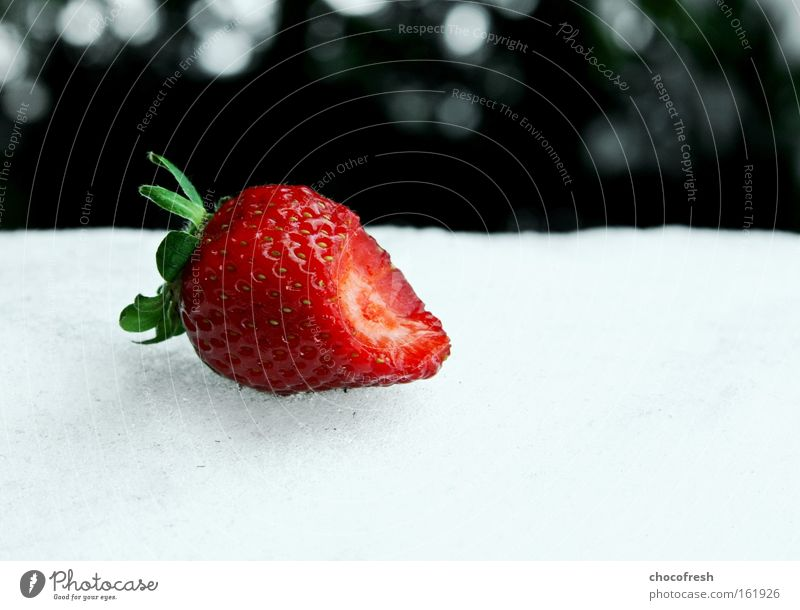 Red Winter Dream Fruit Transience Longing To enjoy Strawberry Berries Small but perfectly formed