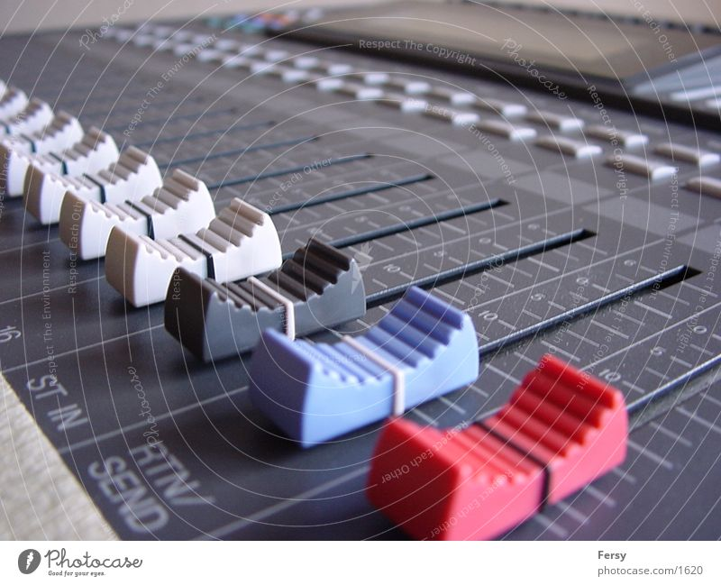 {the_slider} Mixing desk Photographic technology Tone
