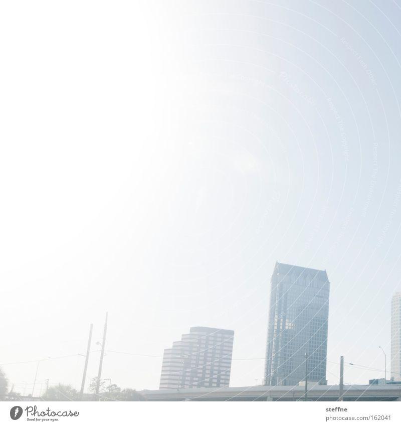 Sun Summer Bright High-rise USA Skyline Downtown Florida Americas Tampa