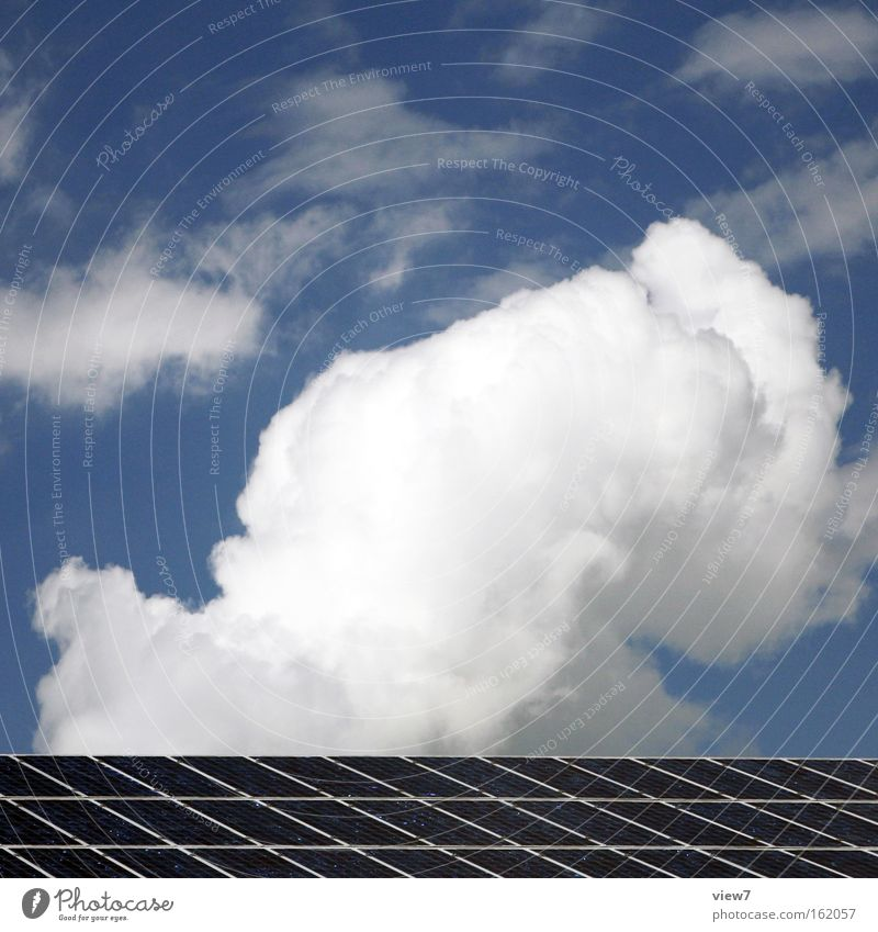 Sky Clouds Line Moody Energy industry Modern Authentic Electricity Stripe Change Hope Industry Technology Clean Simple