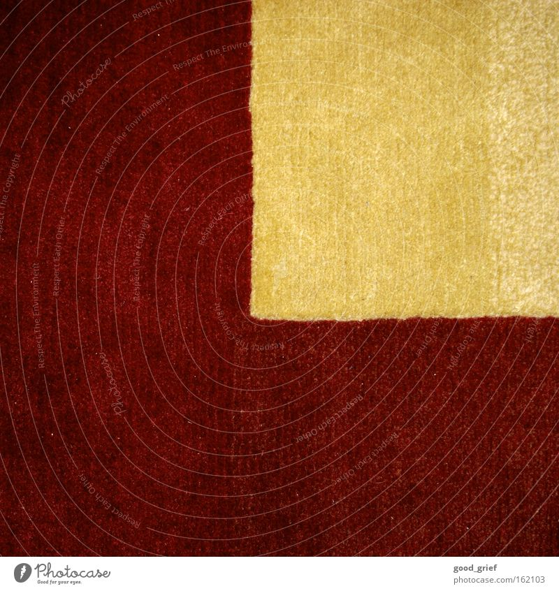 Red Yellow Wall (building) Dirty Corner Floor covering Decoration Cloth Carpet Dust Runner Thread Suck Vacuuming
