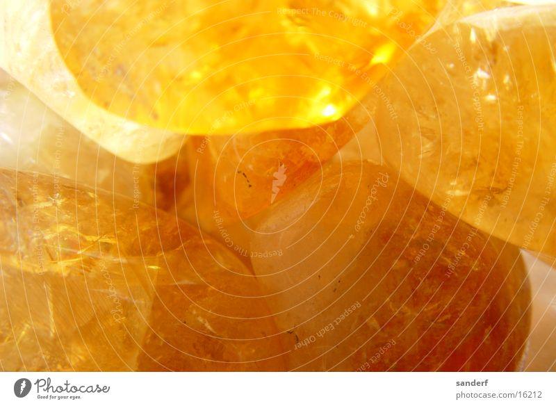 wondrous stones Precious stone Yellow Macro (Extreme close-up) Close-up Stone Minerals healing stones Orange