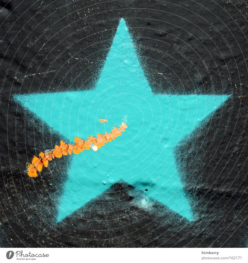Black Colour Wall (building) Graffiti Style Stone Dye Art Design Star (Symbol) Cool (slang) Retro Shows Culture Sign Media