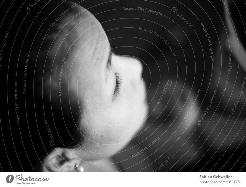 sleepless Eyelash Make-up Apply make-up Portrait photograph Woman eyelashes Asian