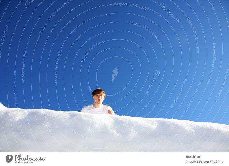 lightning blue 1 Blue White Jump Hand Sky Pants Footwear Man Black Running start Corner Snow cornice Playing To fall