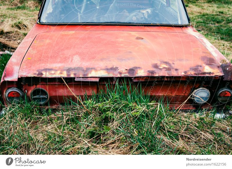 Meadow Grass Lifestyle Time Metal Transport Car Gloomy Technology Retro Transience Industry Broken Decline Economy Rust