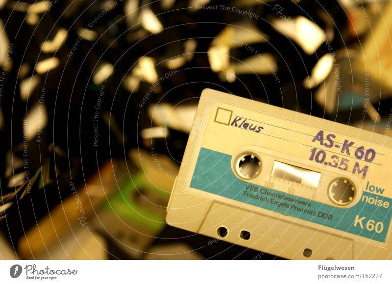 Observe Things Media GDR Audio tape GDR flag Tape cassette Forwards Backwards Whorl Magnet Direction Suspension railway Hue Ghetto blaster Magnetic