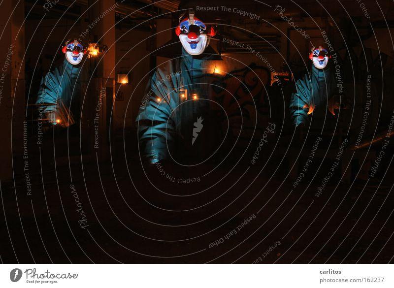 Joy Dark Fear Funny Mask Carnival Creepy Derelict Panic Clown Eerie Hallowe'en Frightening Insecure Profession