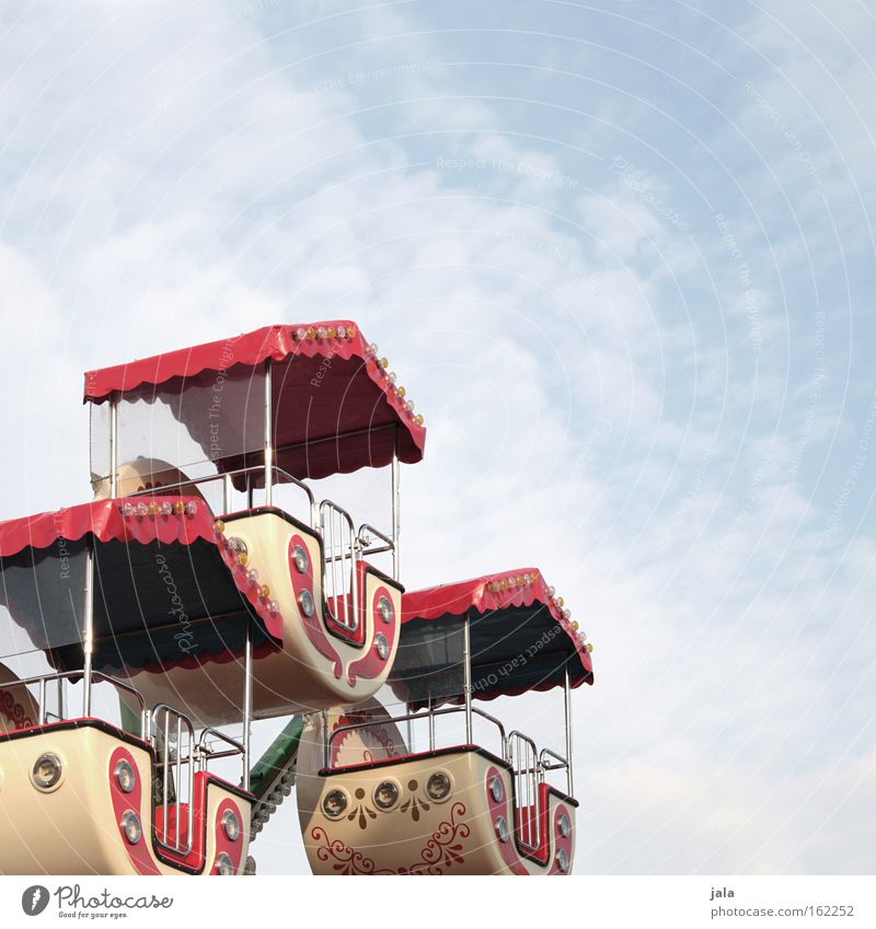 Sky Joy Clouds Tall Leisure and hobbies Infancy Fairs & Carnivals Rotate Ferris wheel Carousel