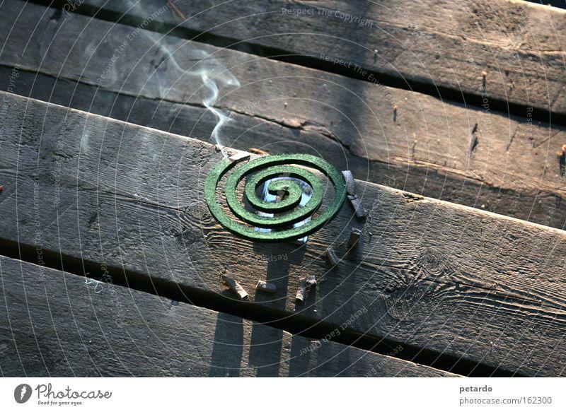 Green Summer Vacation & Travel Wood Brown Smoke Odor Spiral Glow Wooden floor Finland Second-hand Mosquitos Useful