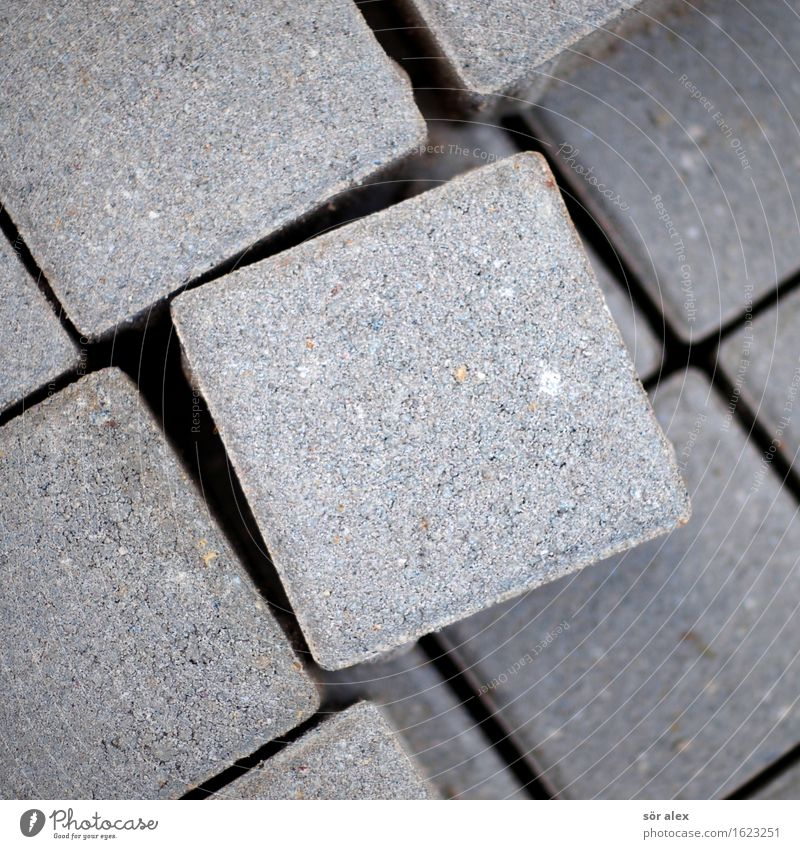 Gray Cobblestones Square Geometry Paving stone Symmetry Cube Seam Equal Civil engineering Pave