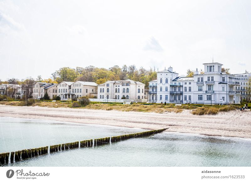 Calm House (Residential Structure) Germany Europe Serene Skyline Town Attentive Heiligendamm