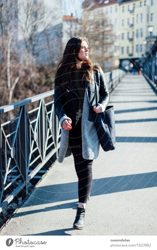 Ana Lifestyle Shopping Style University & College student Feminine Young woman Youth (Young adults) 1 Human being 18 - 30 years Adults Town Fashion Pants Jacket
