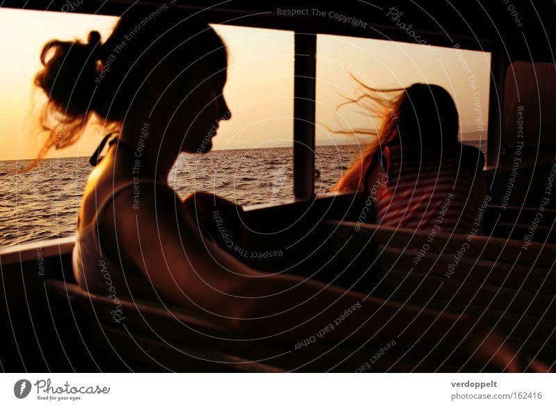0_19 Woman Human being Sun Ocean Summer Vacation & Travel Colour Dream Watercraft Wind Navigation Yacht Breeze Launch Distinguish oneself