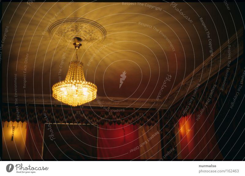Lamp Lighting Room Interior design Illuminate Illuminate Ceiling Old fashioned Classic Chandelier Homey Skylight Ceiling light Room setup
