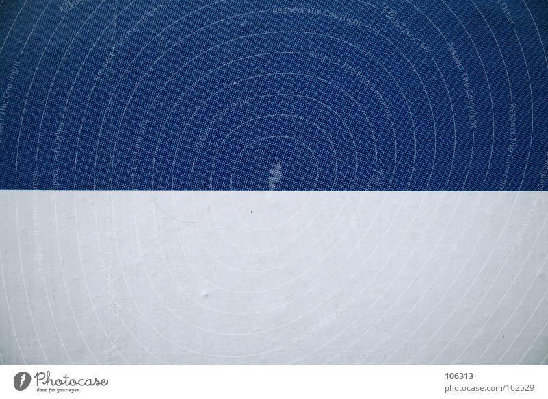 White Blue Colour Line 2 Illustration Divide Graphic Two-piece