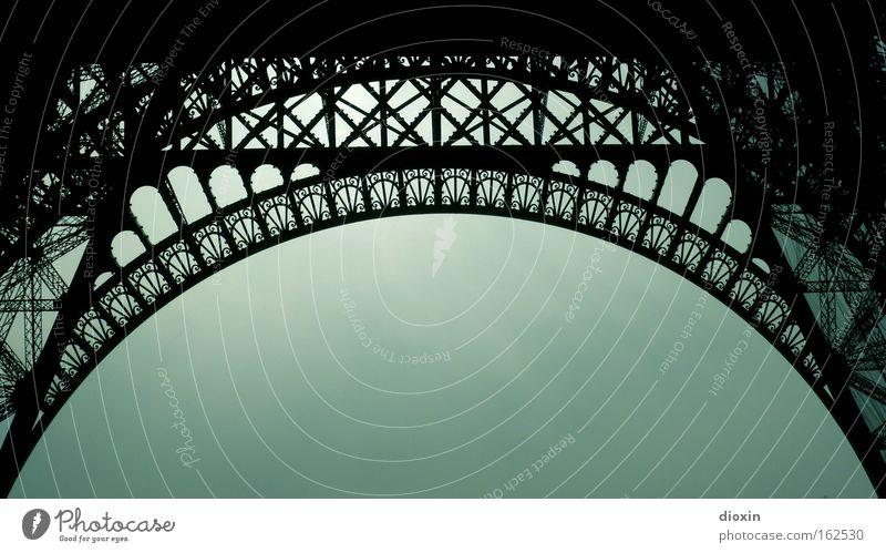 Architecture Tall Tourism Paris Steel Monument Historic Landmark Iron Rivet Monumental Eiffel Tower Massive Half-timbered facade Transmitting station