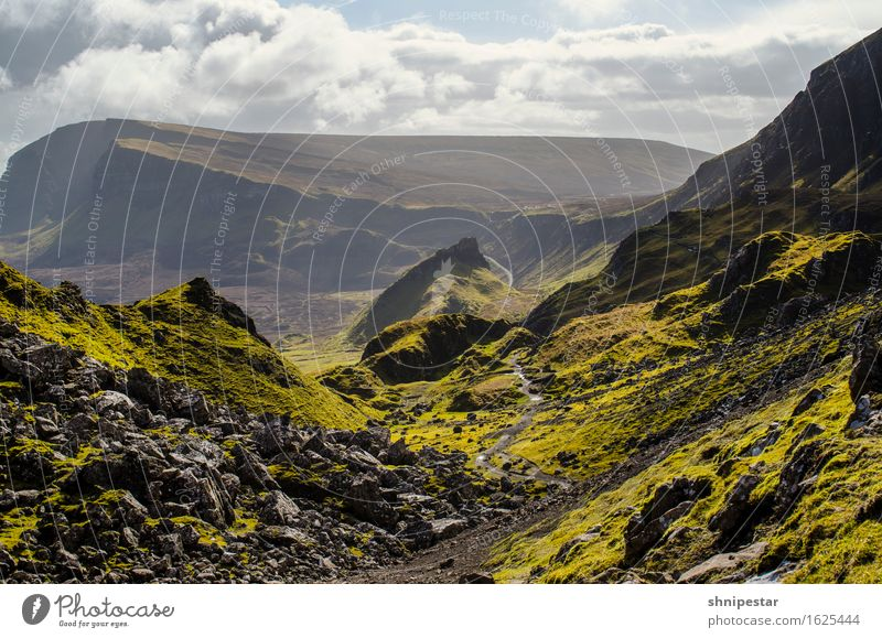 The Quiraing, Isle of Skye, Scotland Vacation & Travel Tourism Adventure Far-off places Expedition Island Mountain Hiking Environment Nature Landscape Elements