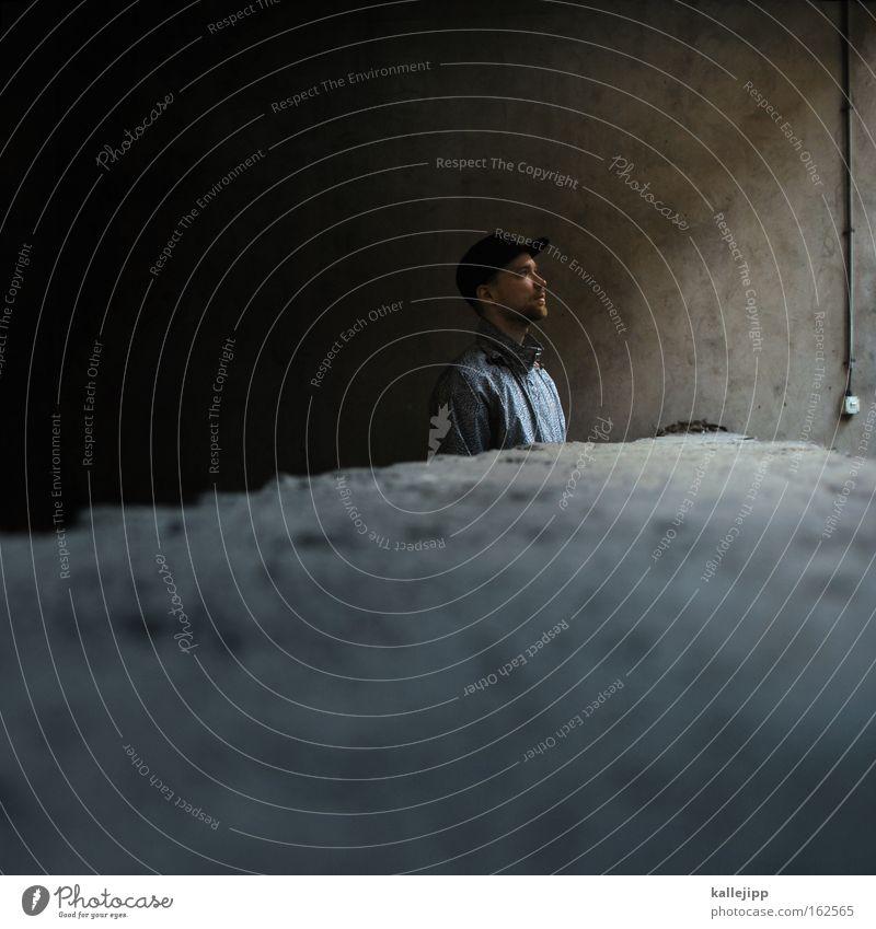 Human being Man Wall (barrier) Looking Hope Cool (slang) Future Cap Plate Guy Tolerant Edge of a plate Baseball cap