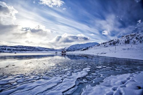 Artic Lake Sky Nature Vacation & Travel Blue Beautiful Colour White Sun Ocean Landscape Clouds Beach Winter Mountain Environment Snow
