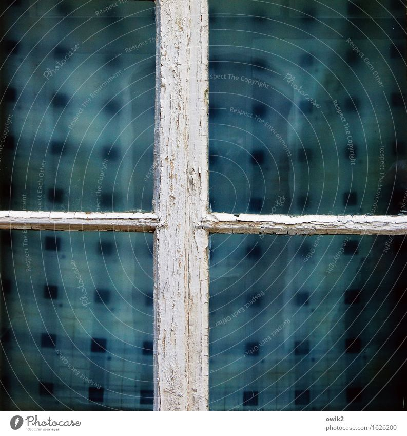 Old Blue White Calm Window Sadness Dye Wood Simple Closed Transience Sign Break Tilt Protection Safety