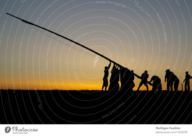 Work and employment Group Power Success Force Flag Silhouette Human being Attachment Teamwork Vertical Flagpole Construct