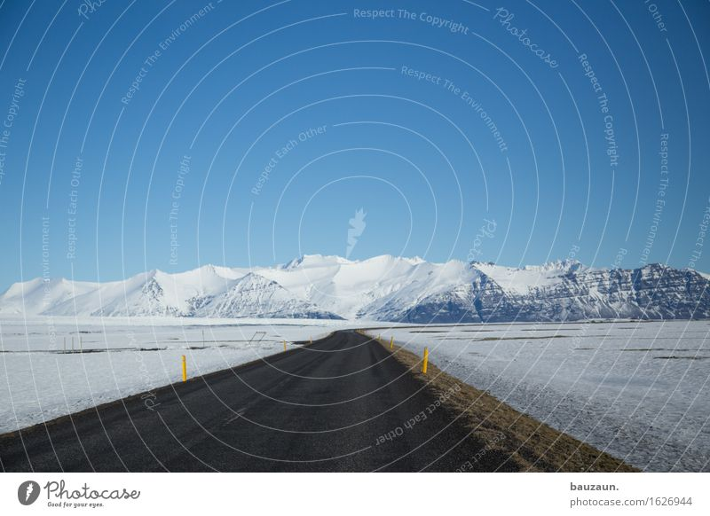 Nature Vacation & Travel Landscape Far-off places Winter Mountain Cold Environment Street Lanes & trails Snow Freedom Tourism Transport Ice Earth