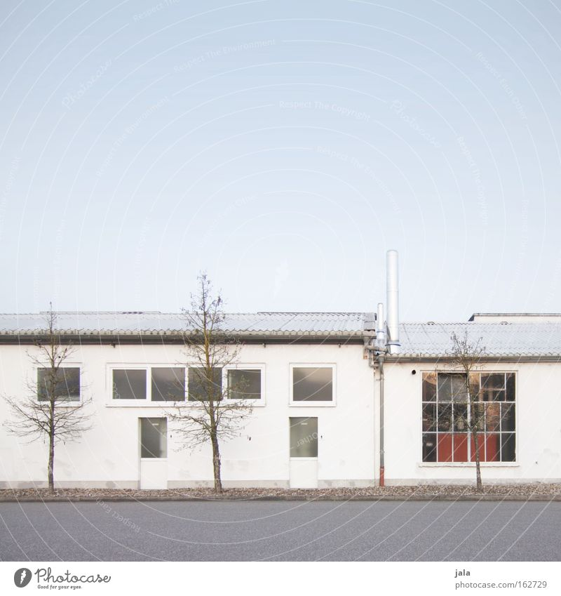 White Window Architecture Building Industry Company Corporate building Advantage Useful Infrastructure Industrial zone