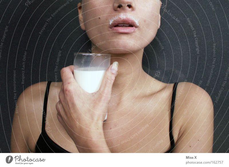 Woman Nutrition Mouth Healthy Adults Beverage Drinking Facial hair Milk Milkshake