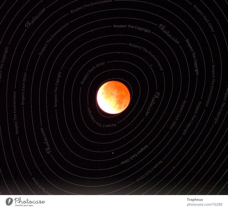 Sky Stars Moon Lunar eclipse