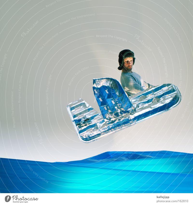 Human being Man Water Ocean Airplane Flying Industry Aviation Adventure Comic Aluminium Placed Atlantic Ocean Artificial Pioneer