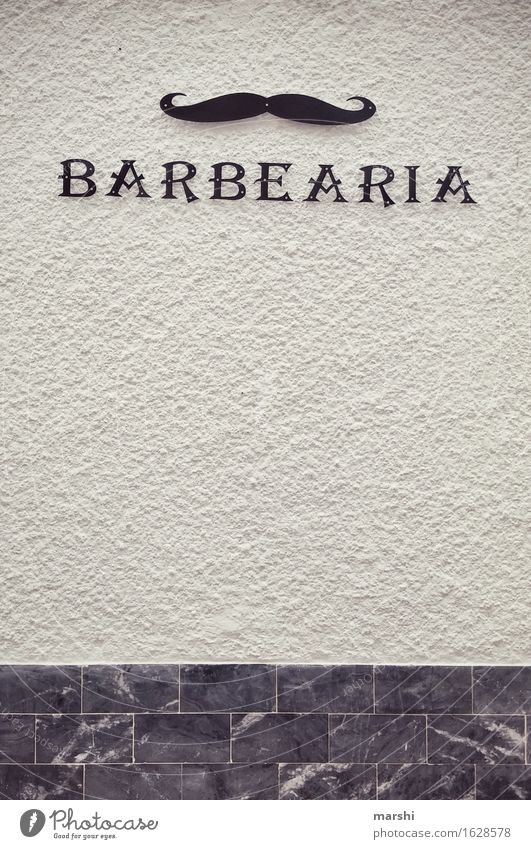 barbearia Downtown Old town House (Residential Structure) Wall (barrier) Wall (building) Facade Sign Digits and numbers Ornament Signs and labeling Signage