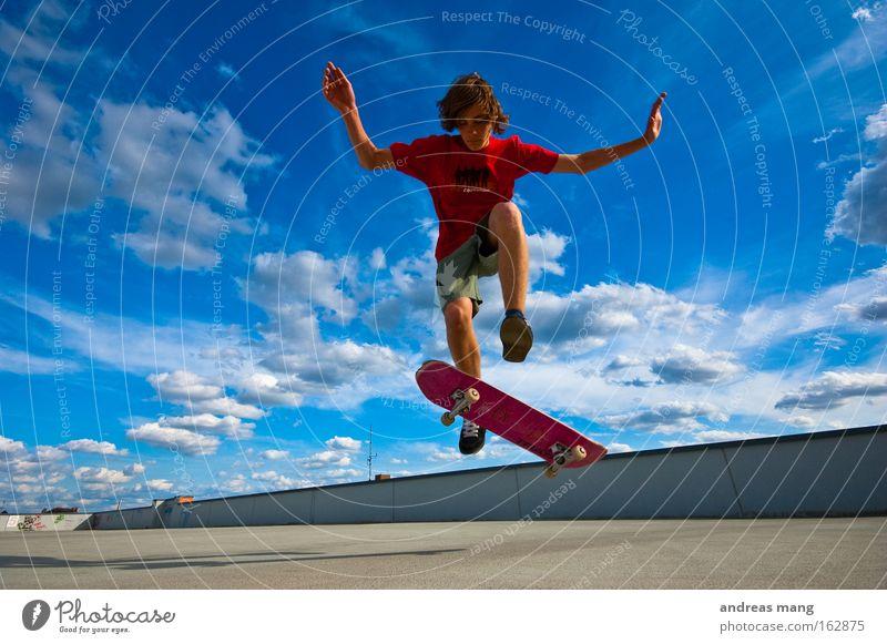 Joy Sports Life Jump Style Freedom Flying Skateboarding Concentrate Parking Effort Parking garage Extreme Extreme sports