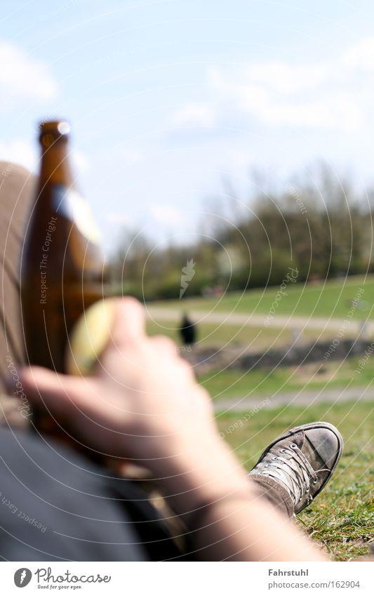 Sky Summer Meadow Park Drinking Alcoholic drinks Beer Chucks Beverage