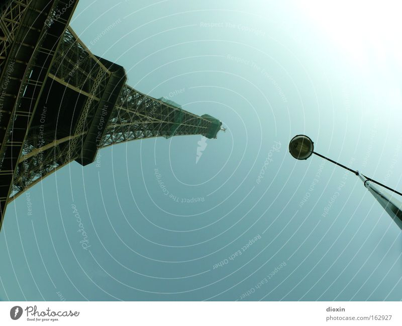 Architecture France Tall Tourism Paris Lantern Steel Monument Historic Landmark Street lighting Iron Monumental Eiffel Tower Massive