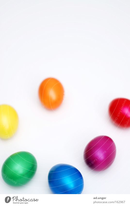 Easter Egg Multicoloured Easter egg Colour tone Colour palette