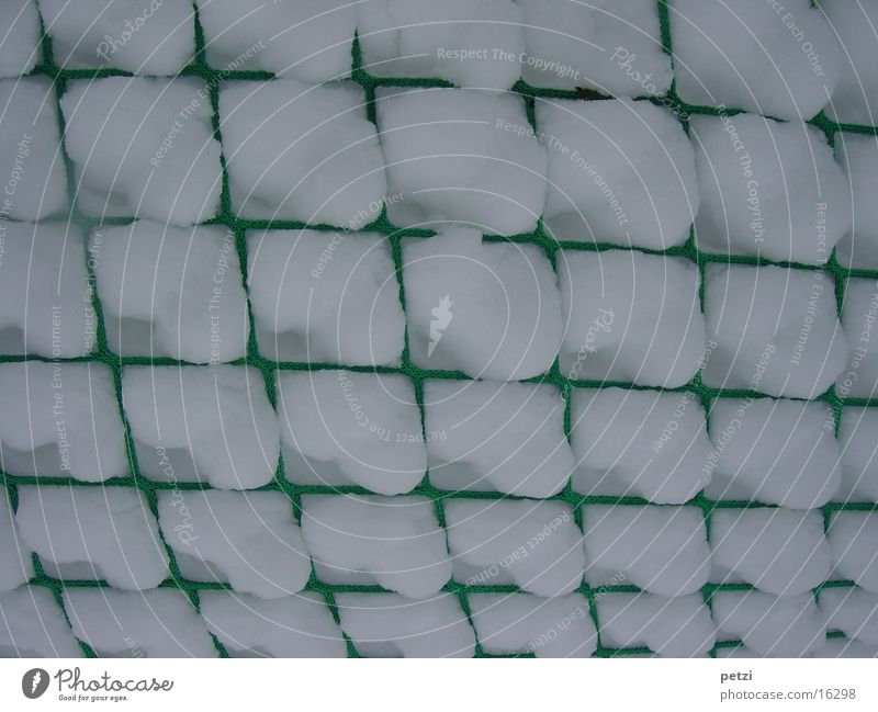 White Green Snow Graffiti Net Leisure and hobbies Catch Square Collateralization