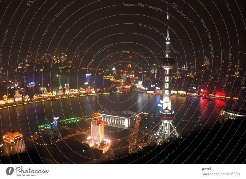 Colour Shanghai Success River China Oriental Pearl Tower