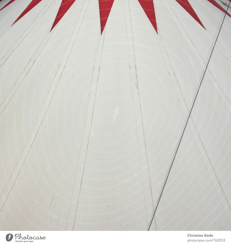 circus Circus Tent Circus tent Covers (Construction) White Red Bochum Roof Circus ring Shows Clown Architecture Leisure and hobbies Things