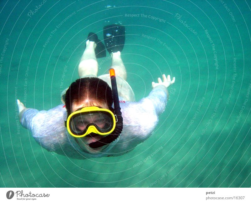 Ocean Sports Sand Air bubble Greece Water wings Snorkeling Diving goggles Diving equipment Bottom of the sea