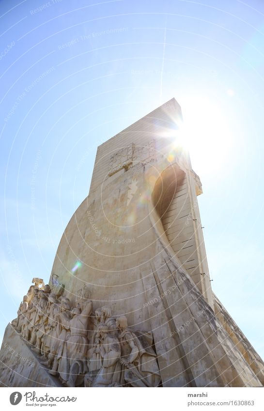 explorers Town Capital city Downtown Populated Tourist Attraction Monument Emotions Moody Belém Lisbon Portugal Discover Adventurer Back-light Sky History book