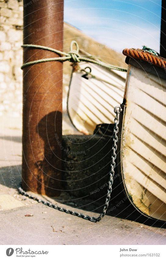 Vacation & Travel White Ocean Coast Watercraft 2 Rope Safety Lakeside Harbour Wanderlust Rust Navigation Chain Column Fishery