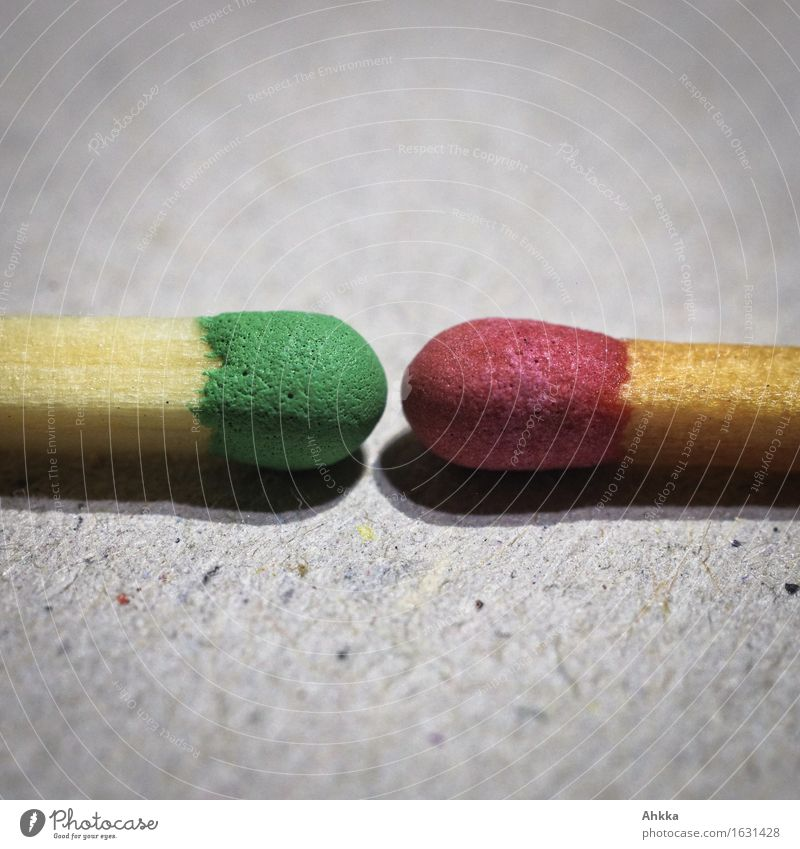 red-green encounter Match Wood Line Green Red Dangerous Stress Mistrust Envy Variable Anger Animosity Aggression Argument Task Challenging Combustible Fire