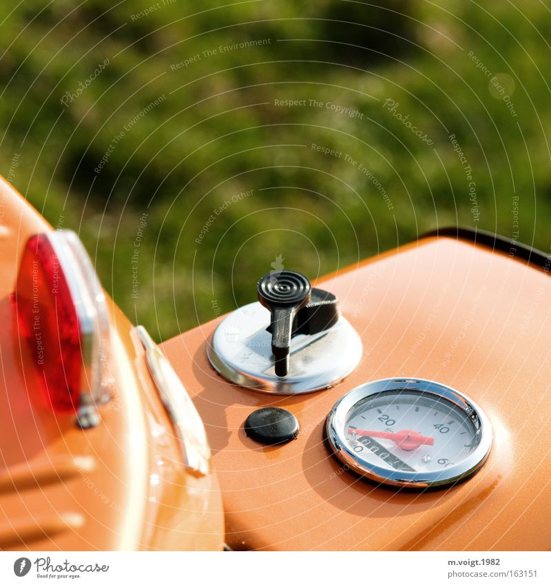 Grass Orange New Motorcycle GDR Scooter Measuring instrument Swallow Speedometer