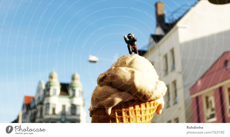 Sky City Beautiful Summer Joy House (Residential Structure) Art Ice cream Cool (slang) Desire Climbing Toys Candy Obscure To enjoy Bremen
