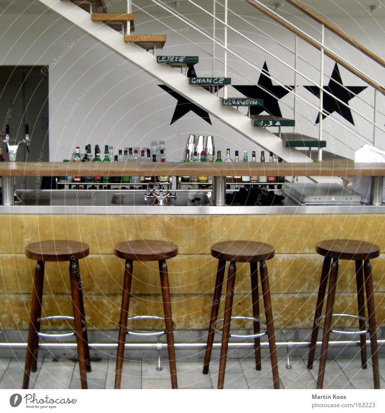 Relaxation Joy Wood Arrangement Esthetic Dance Creativity Dance event Chair Hip & trendy Berlin Bar Bottle Alcoholic drinks Gastronomy Cocktail